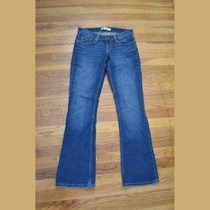 Levi's 524 Too Super Low Jeans, Flare leg, size 5M